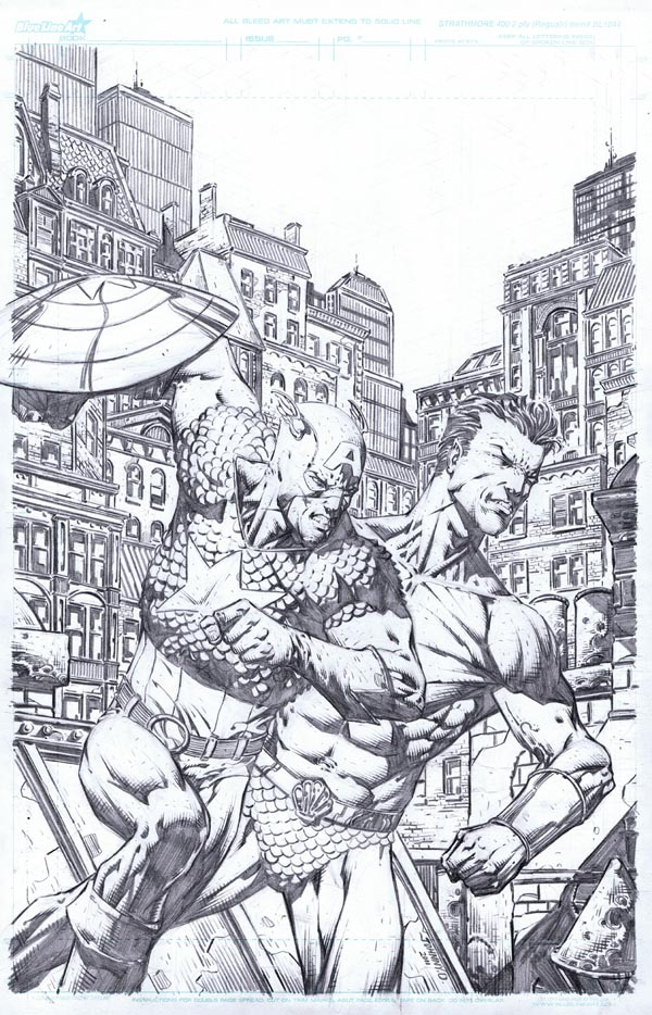 Cap/Namor Commission